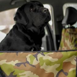 Автогамак для собак, с защитой дверей (Новый)