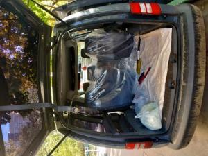 Просторный багажник автомобиля