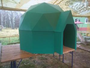 Купольная будка для Вашего питомца.